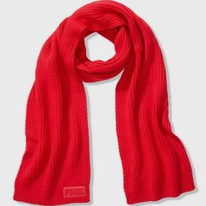 Victoria's Secret PINK - RED Acrylic Scarf